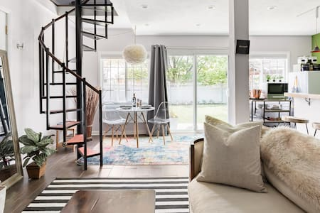 Eclectic Midtown Carriage House As Seen on TV