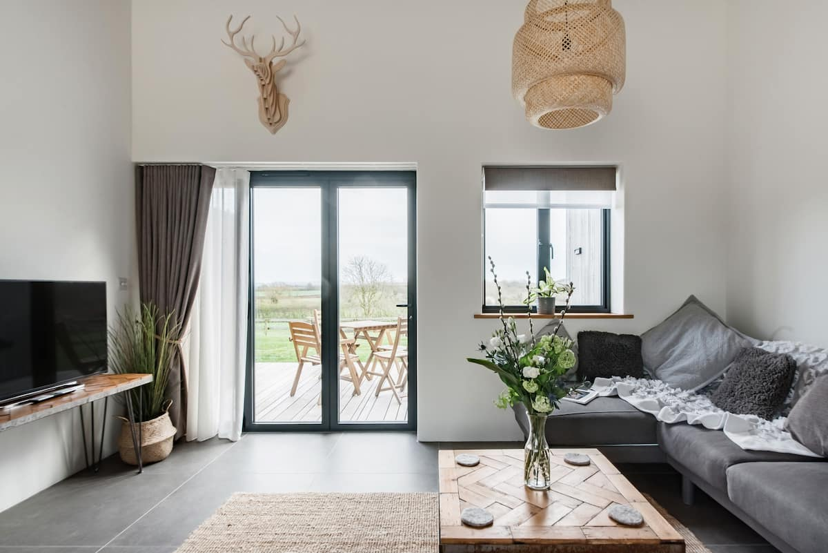 Contemporary Getaway with Countryside Views