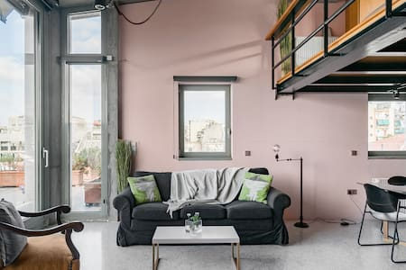Awarded Loft in the Center of Athens