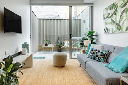 Bright Urban Studio with Private Courtyard
