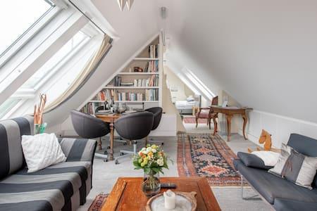 Vienna-Hights- Mansard Studio with Stunning Views of Vienna