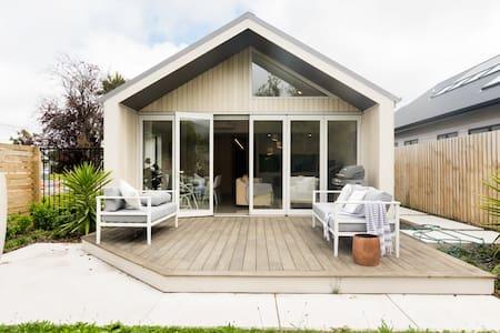 Minimalist Architecture Home with Backyard