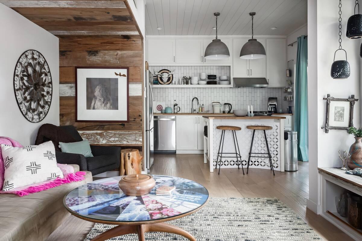 SOCO Modern Farmhouse Blending Sleek and Rustic Accents