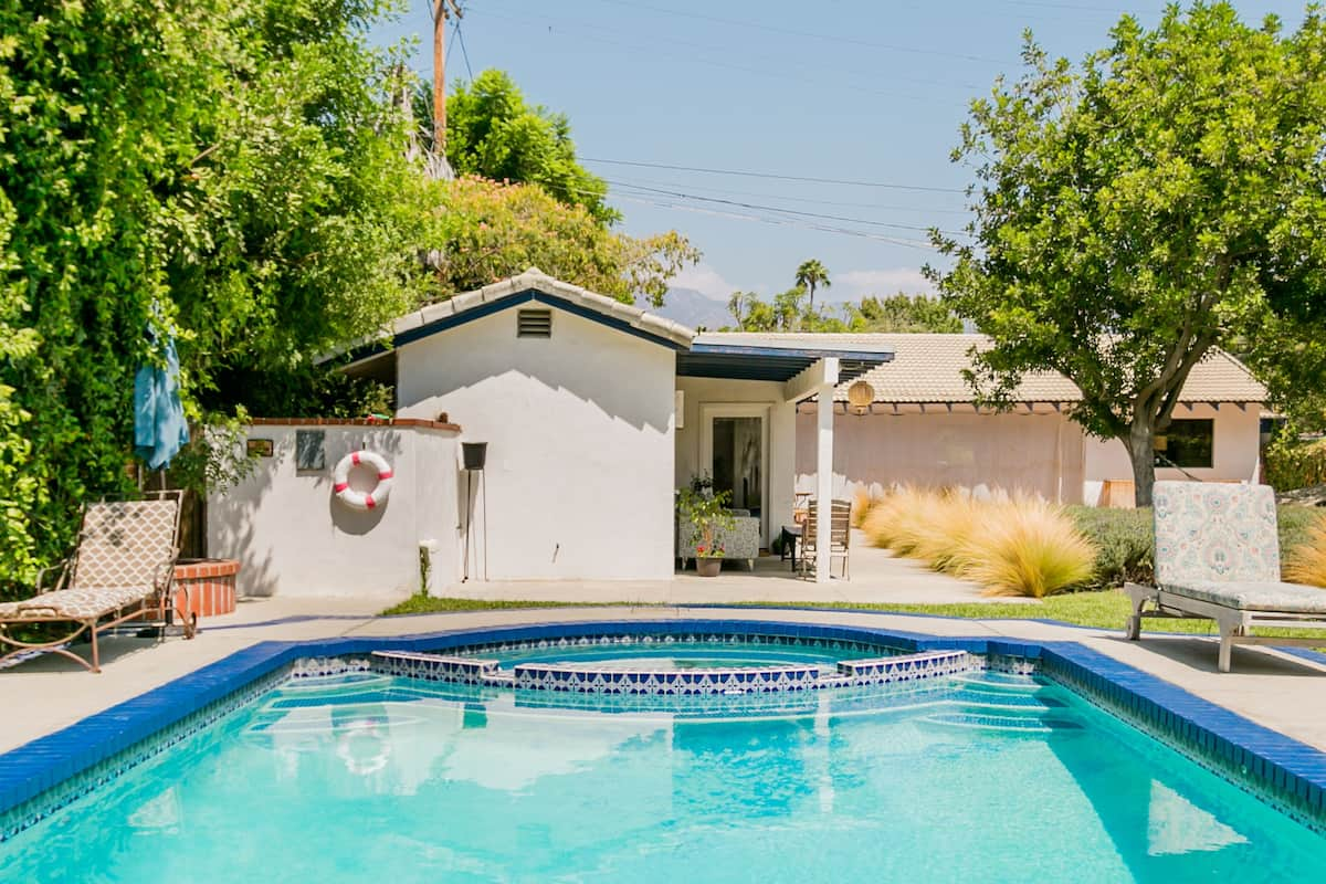 Dillard's Pool House on Historic Oasis with Saltwater Pool