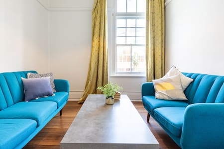 Hip K Rd. from gorgeous spacious 2 BR apt.