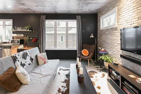 Loft luxueux, confortable et lumineux