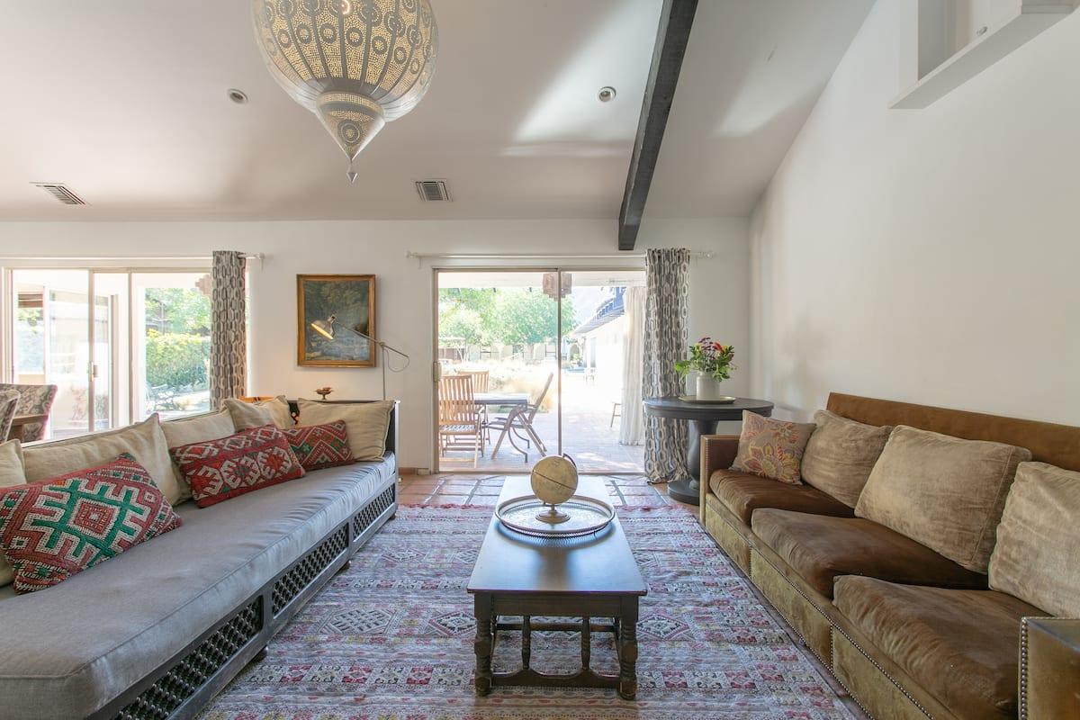 Rivergate House; an Elegant Equestrian Oasis Hollywood