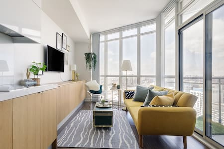 Step out to the Balcony for Unobstructed Toronto City Views
