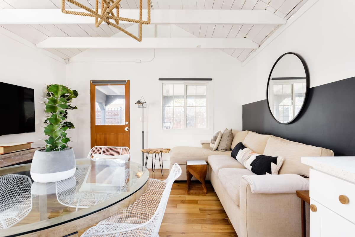 Explore Los Angeles from a Modern, Hip Bungalow with a Porch