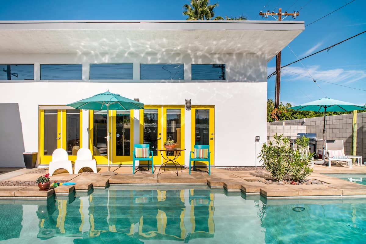 棕榈泉的民宿