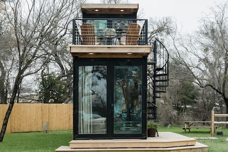 The Helm—2-Story Container Home close to Magnolia Market