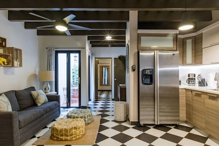 Wander the Checkerboard Floors at a Welcoming Hideaway