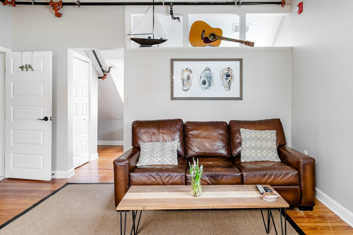 Step Out to Main Street From a Chic Loft