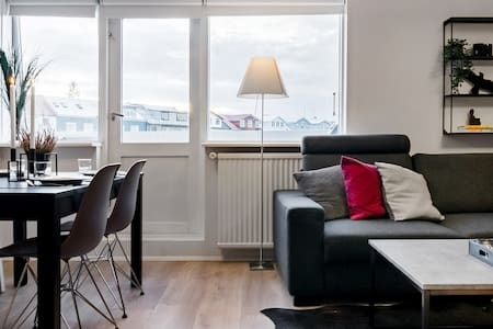 Stroll to Reykjavik Harbor from a Cozy Apartment