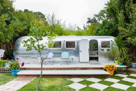 Immaculate Vintage Airstream in Mill Valley