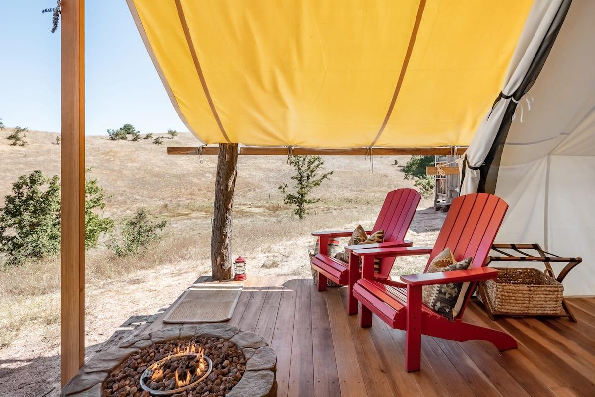 Rancho Tranquillo Rustic Chic Tent