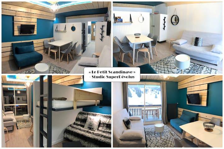 """Le Petit Scandinave ✨ MINI-LOFT """"Confort"""" VUE 180°"""