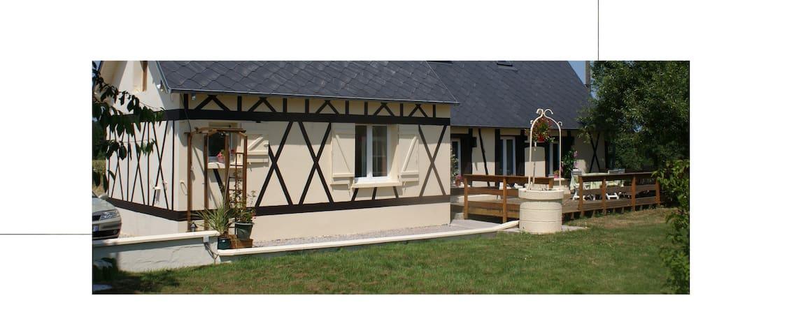 "Gîte ""Lovely Normandy""  Spacieux, Confort et calme"