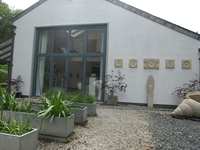 Your own private gallery in a tranquil setting.