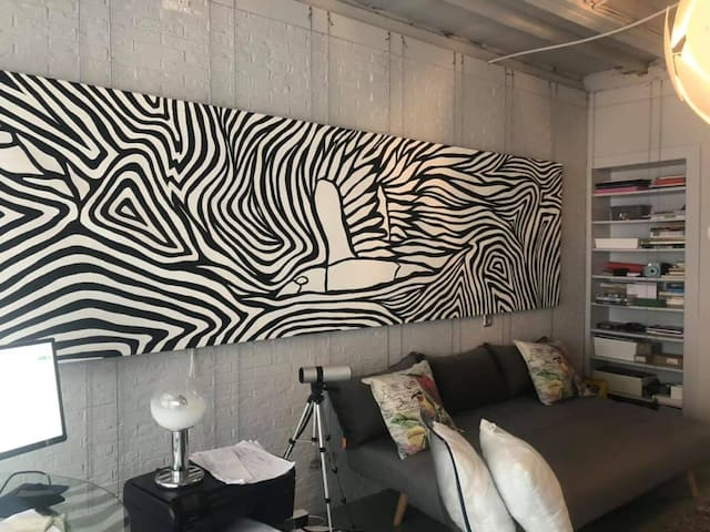 A creative shelter at center of Leiden