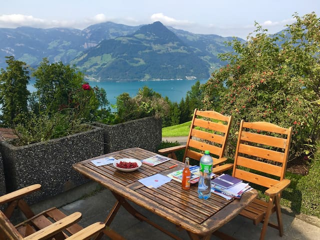 Mountain peace in the heart of Switzerland