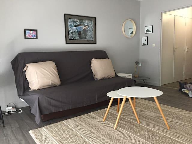 Joli Studio lumineux et meublé avec goût !