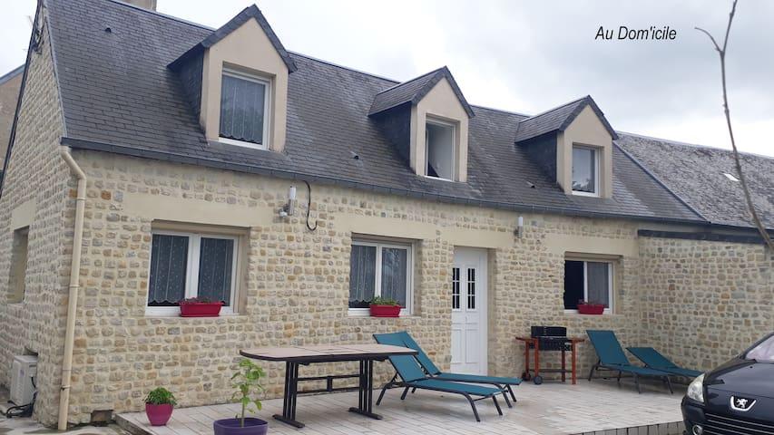 Monceaux-en-Bessin的民宿