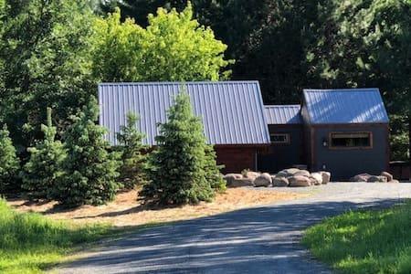Snowshoe Creek & Little Wood Lake Tiny House