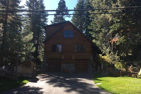 Tahoe Donner Log Cabin