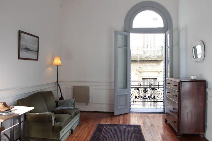 Bright studio in shared apartment