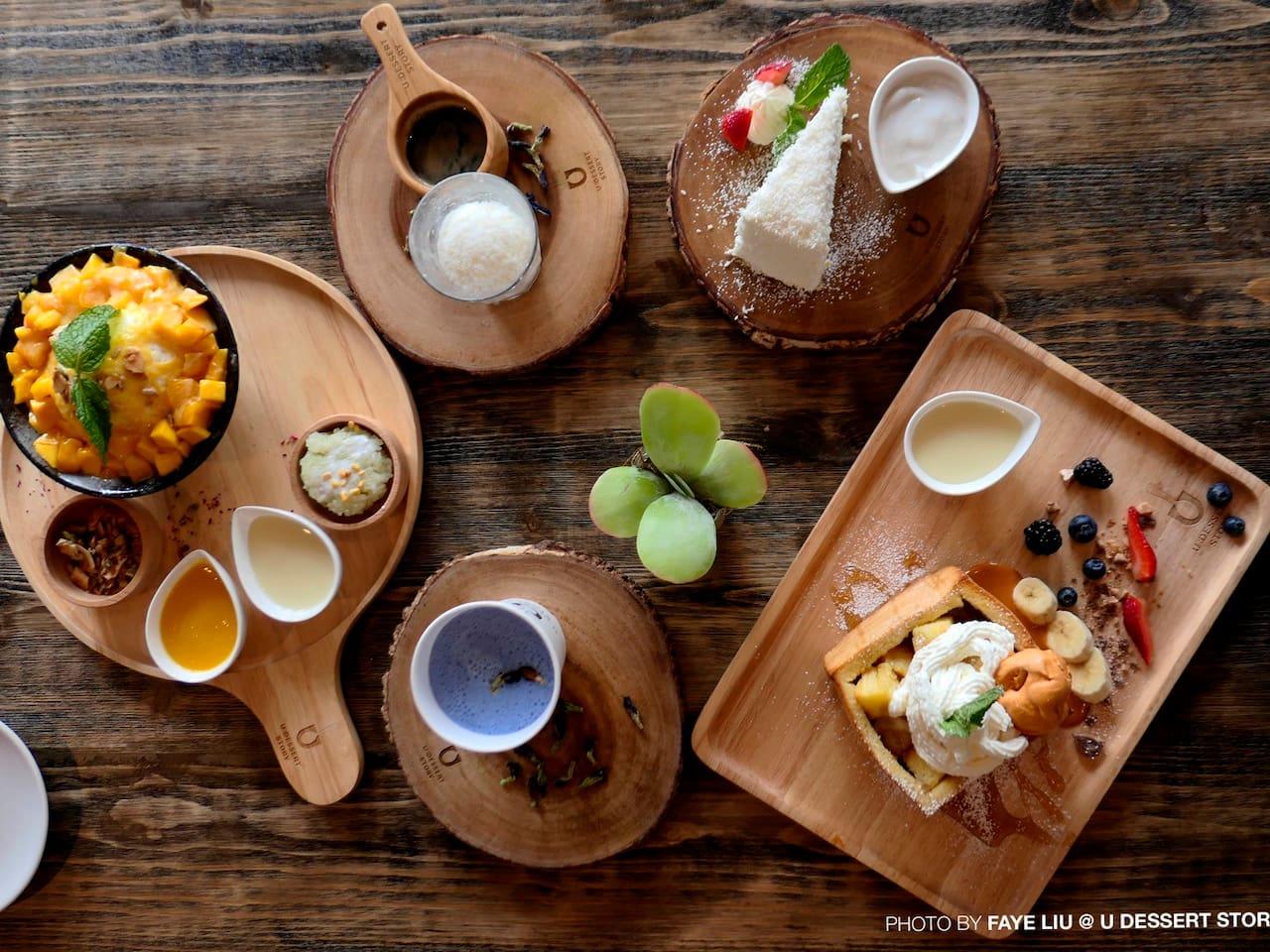 美国用颜值征服你的视觉和味蕾!U:Dessert Story