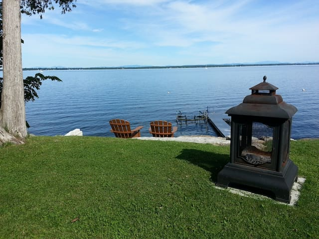 Lakefront Home - Lake Champlain