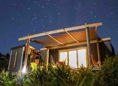 The 'Flax Pod' shipping container cabin