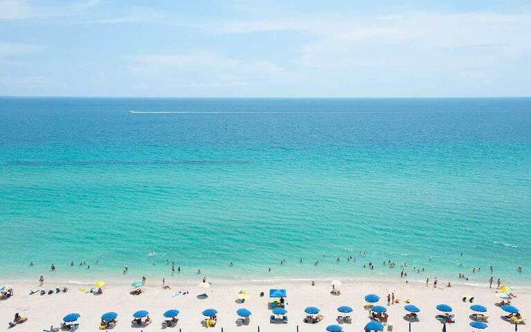 阳光岛海滩的民宿