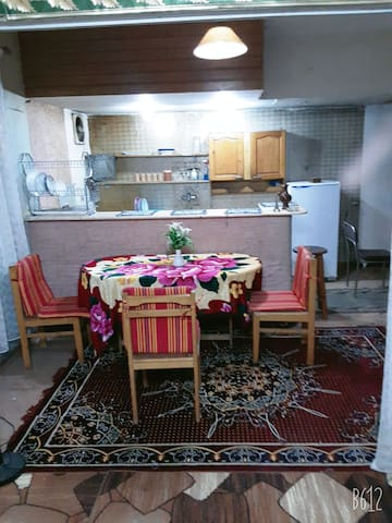 Clean,  spacious, & private apartment in Cairo.