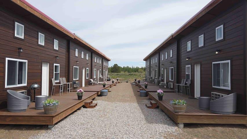 岛屿公园的民宿