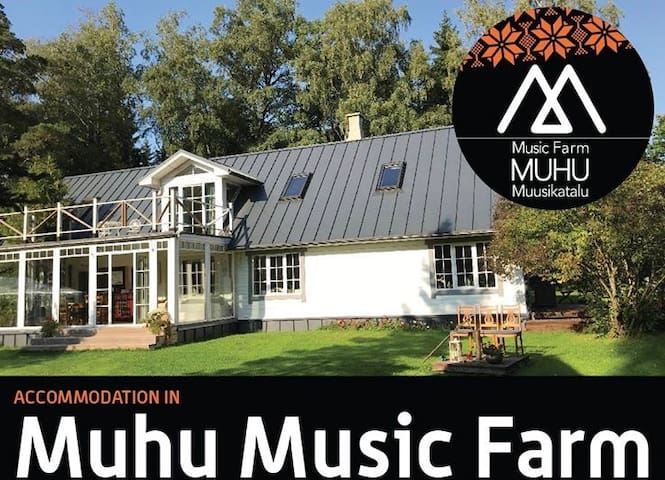 Private apartement in Muhu Music Farm 2nd floor