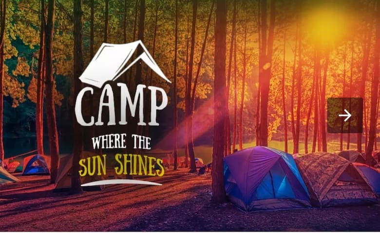 CAMPING TENTS 2 or 3 SHARING (RATES PER PERSON)