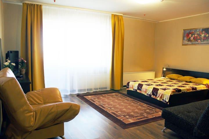 Апартаменты для семьи, командировки 22 эт