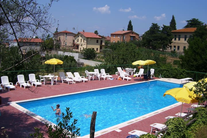 Holiday Home in Pacaino with Swimming Pool,Terrace,Billiards
