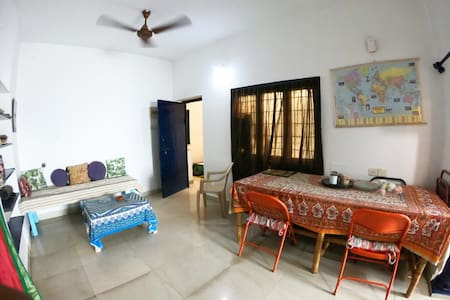Cozy apartment in the center of Pondicherry