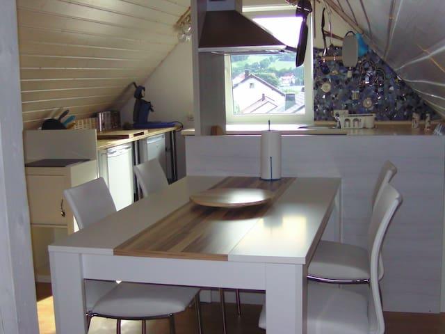Maisonette-Wohnung für 4 unter der Kapfenburg