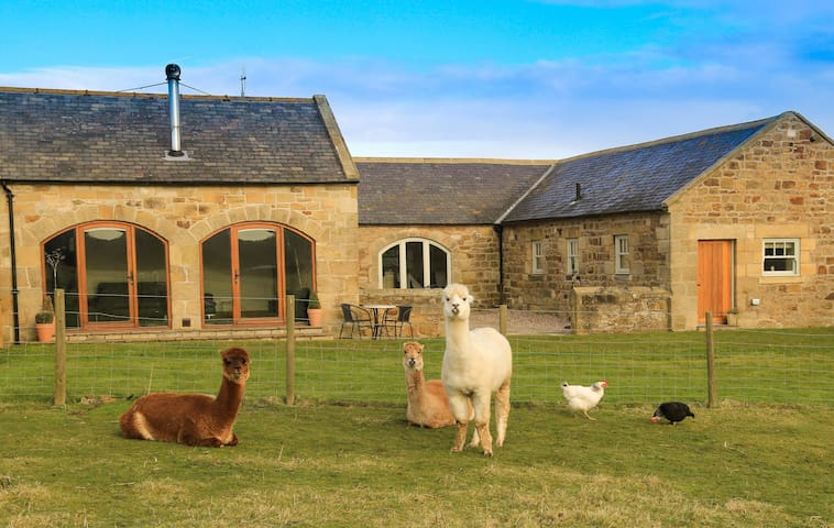 The Dairy, Northumberland Country Retreats.