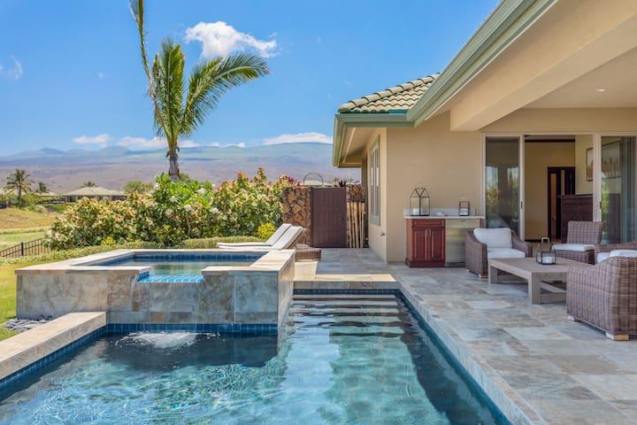 Mauna Kea Wai'Ula'Ula *Ocean View* Spa*Pool*Golf*