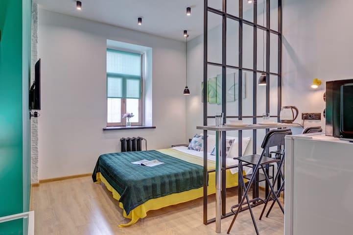Axis.Moscow Arbat: Dream apartment on Arbat