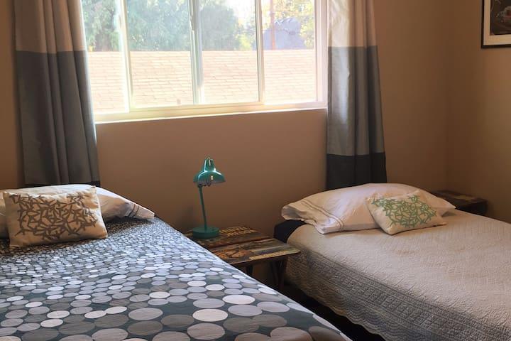 Quiet Bedroom in New Apartment