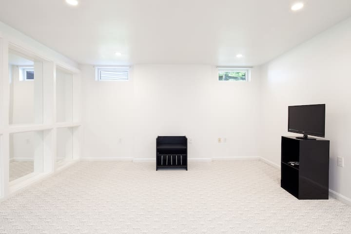 Non-Walk Out Basement in a Single Family Home