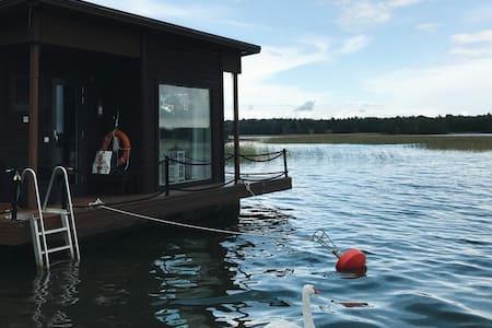Saunaboat near Helsinki (available)