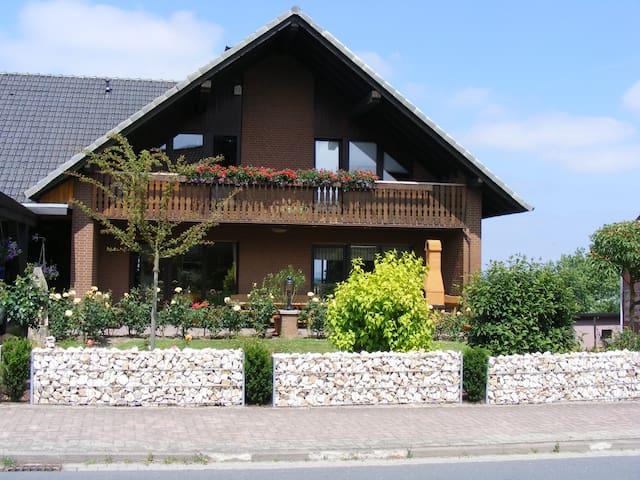 """Unser Eulenloch im """"Haus Meerblick"""""""