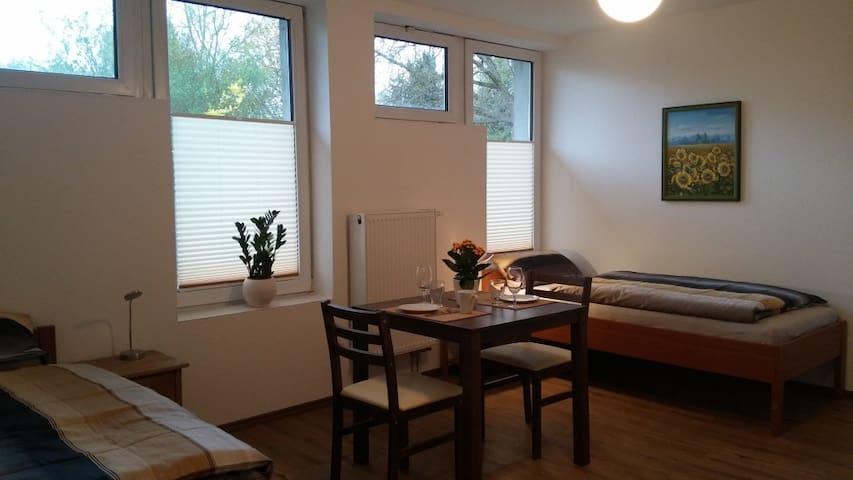 Moderne Appartments 1, je 1-2 Pers.  EZ 32€/DZ 55€